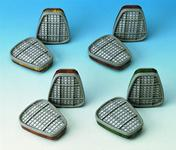 3M 6059-es szűrőbetét szerves-,  szervetlen-,savgőzök és ammónia  el