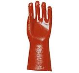 PVC light 3620-as kesztyű 36 cm-es piros sav-, lúg-, benzinálló