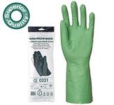 Nitril Plus 5507.10-es KESZTYŰ zöld sav-, lúg-, olaj-, zsír- és vegysz