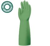 5538-as 45 cm hosszú Nitril Plus zöld sav-, lúg-, olaj-, zsír- és vegy