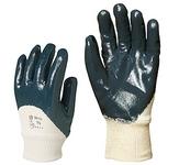 Eurodex  9427-es standard szellőző hátú kék nitril, gumis mandzsettáva