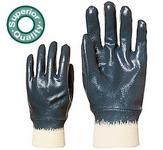 Eurolité 9438-as kézháton is mártott kék nitril, gumis mandzsettával