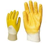 Nitril light Eco 9317-es KESZTYŰ  szellőző hátú sárga nitril, gumis