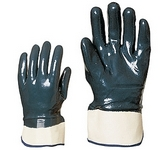 Nitril light Eco 9618-os KESZTYŰ kétszer, kézháton is mártott kék nitr
