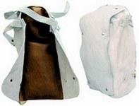 Bőr térdvédő 57650-es szivacsbéléssel, csatos pánttal