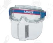 Uvex Ultravision U9301317-es  átlátszó polikarbonát arcvédő