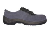 SUN (S1P) szürke velúrbőr cipő szellőző lukakkal, acéltalppal és -