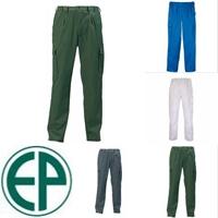 Factory deréknadrág, gumibetétes, cipzáros nadrág, övbújtatókkal, bi