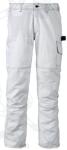 NEAT  fehér nadrág 7 zsebbel,  erősített térddel, 320g/m2,  65%  pol