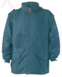 TYROLIA   kék bélelt kapucnis  télikabát
