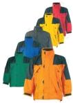 EUROPA királykék/fekete 3 az 1-ben:  polár pulóver+dzseki+kabát, szel