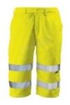 Patrol short sárga, bermuda fazon,  gumibetétes derék, három zseb RPA
