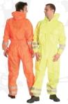 Fluo overall, kapucnis, vízhatlan,  lélegző 150g/m