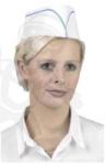 Fehér élelmiszeripari kartonpapír sapka  100 db/ doboz  45660-63-as