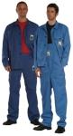 Láng- és saválló kabát, antisztatikus, kék Tecapro anyagból (270g/m2,