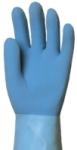 Saválló kék gumikesztyű 5227-30-as
