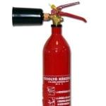 2 kg-os CKM2 széndioxiddal gázzal oltó tűzoltó készülék