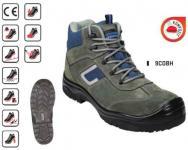COBALT (S1P CK) 9COBH kékesszürke hasítékbőr cipő és bakancs, kompozit