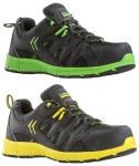 Sportos kinézetű S3-as biztonsági védőcipő 9MOLL, 9MOVL munkavédelmi félcipő