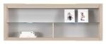 AX 16 falra szerelhető üvegpolcos szekrény
