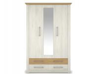 ARSAL/ARMOND SZ3D4S tükrös gardrób szekrény