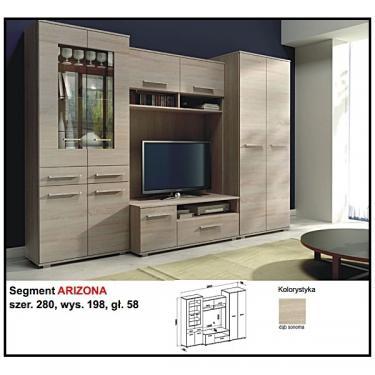 ARIZONA nappali szekrénysor - BRW Bútor Web Áruház - addel.hu piactér