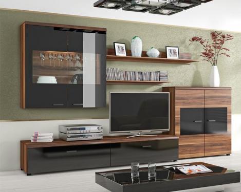 FLASH nappali szekrény LED világítással - BRW Bútor Web Áruház ...
