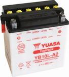 YUASA Motor Akkumulátor (YB10L-A2) 12V 11,6Ah Jobb+