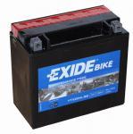 EXIDE Bike Motor Akkumulátor (YTX20L-BS) 12V 18Ah 270A Jobb+