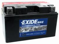 EXIDE Bike Motor Akkumulátor (YTZ10-BS) 12V 8,6Ah 145A Bal+