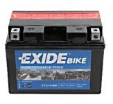EXIDE Bike Motor Akkumulátor (YTZ14-BS) 12V 11,2Ah 205A Bal+