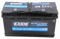 EXIDE Start Stop AGM Akkumulátor 12V 95Ah 850A Jobb+