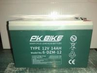 PK BIKE 12V 14Ah (6-DZM-12) Elektromos kerékpár akkumulátor