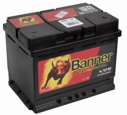 Banner Starting Bull Akkumulátor 12V 62Ah Jobb+