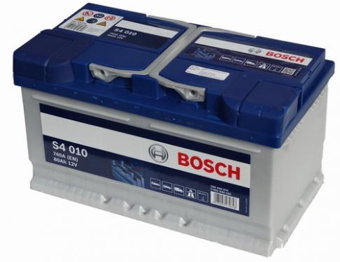 BOSCH S4 12V 80Ah PASSAT Jobb+