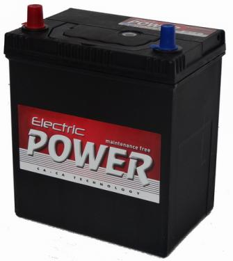 Electric Power Akkumulátor 12V 40Ah Japán Bal+