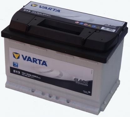 VARTA Black Dynamic Akkumulátor 12V 70Ah Alacsony Jobb+