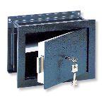 WT 13 S állítható mélységű fali széf kulcsos zárral