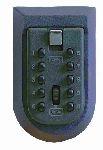 KEYKEEPER falra rögzíthető vészkulcs tároló számkombinációs zárral