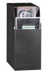 BCS-1 bankjegy csapda, asztal/pult alá rögzíthető, hordozható, zárható