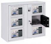 KEYSYSTEM-6 több rekeszes kulcs és értékmegőrző elektromos zárral