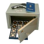 RUBIN Dáriusz-2 bútorszéf kulcsos zárral