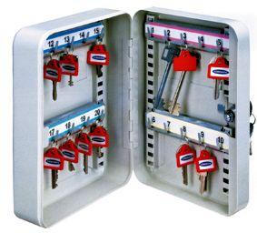 SK-20 kulcskazetta áthelyezhető kulcskampókkal