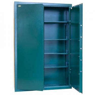 Lőszertároló szekrény VI., duplatollú kulcsos zárral