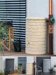 Esővízgyűjtő kőhatású oszlop ARCADO 230 l