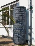 Esővízgyűjtő kőhatású oszlop ARCADO 460 l