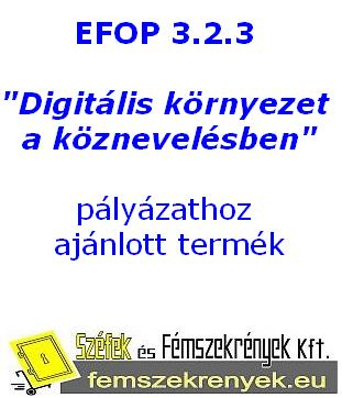EFOP 3.2.3 Digitális környezet a köznevelésben pályázathoz ajánlott termékek