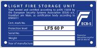 LFS 60 P tűzálló minősítés