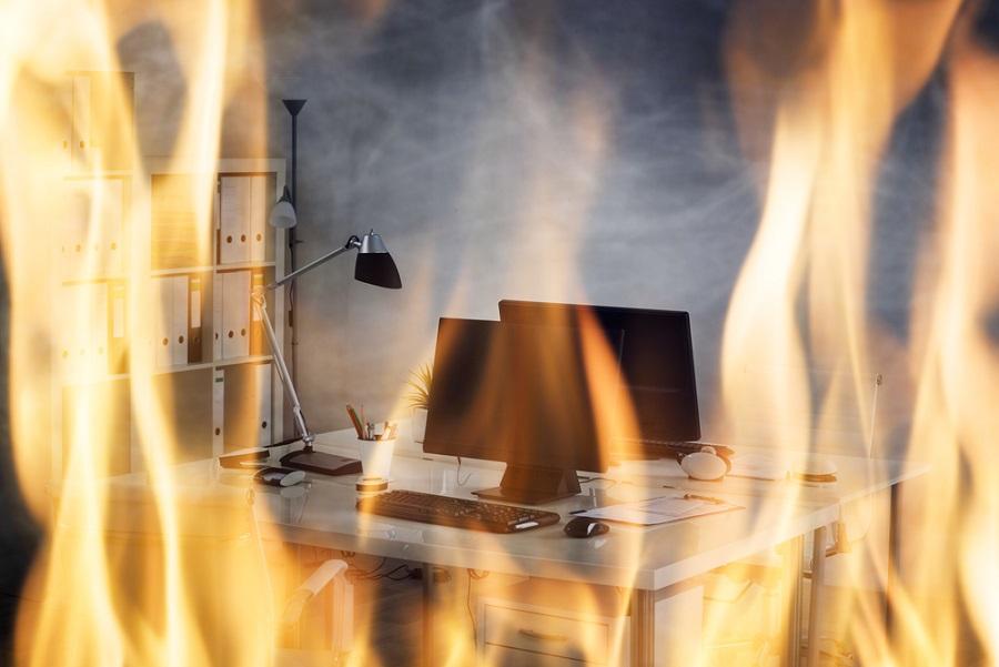 tűzálló irodai fémszekrény