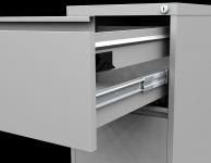 REG 42 C, 2 fiókos függőmappa tároló szekrény, A/4 függőmappákhoz